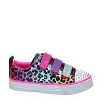 Skechers Twinkle Toes  sneakers met lichtjes roze, Roze/multi