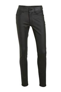 C&A Yessica coated skinny broek zwart, Zwart