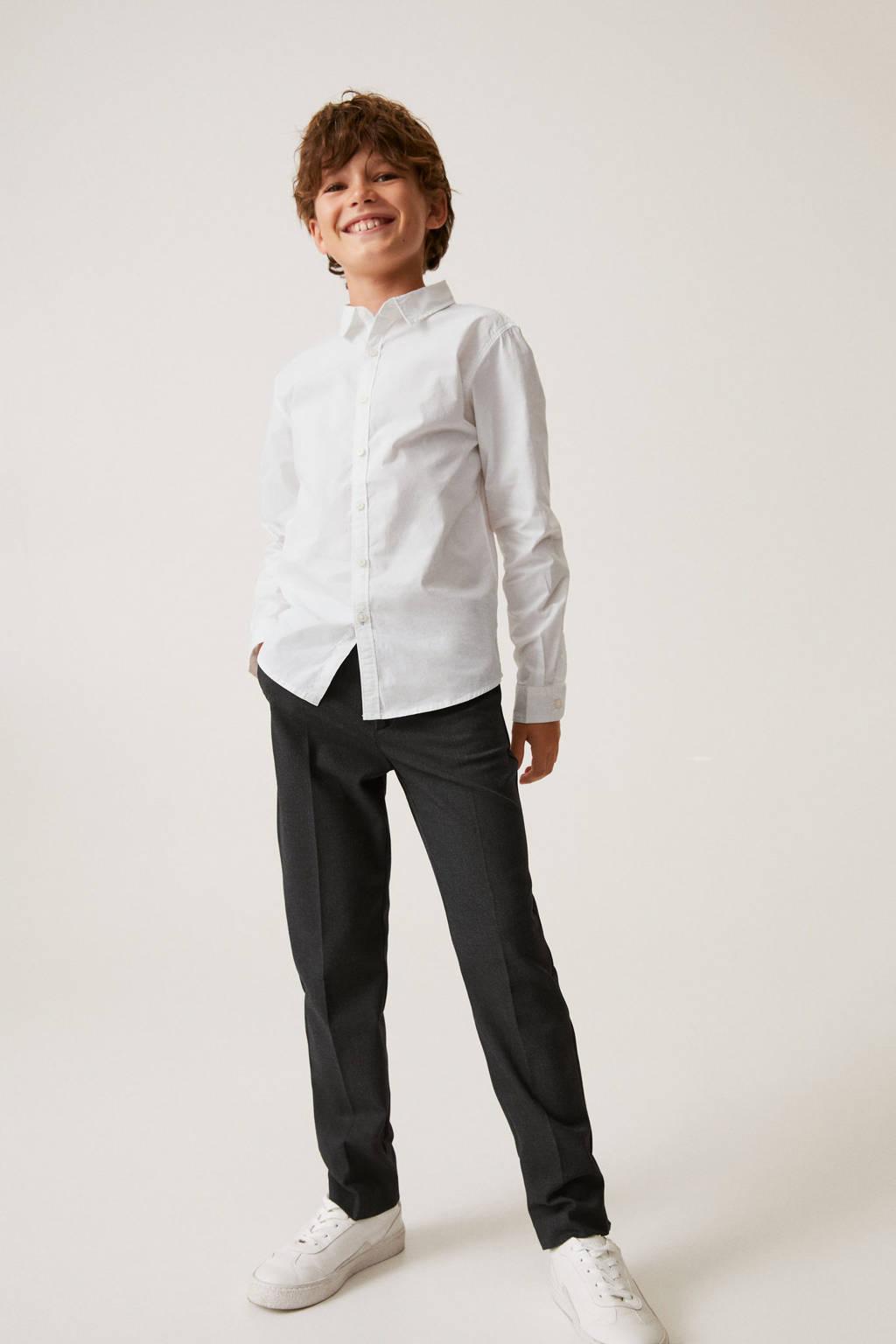 Mango Kids overhemd wit, Wit