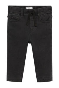 Mango Kids regular fit jeans zwart, Zwart