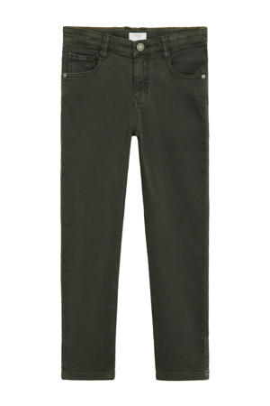 straight fit jeans khakigroen