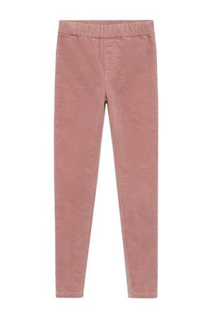 corduroy broek roze