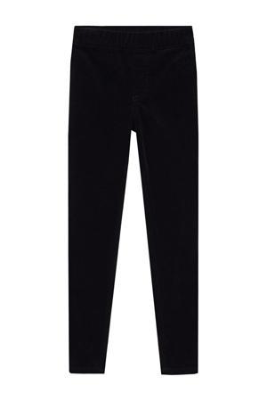 corduroy broek zwart