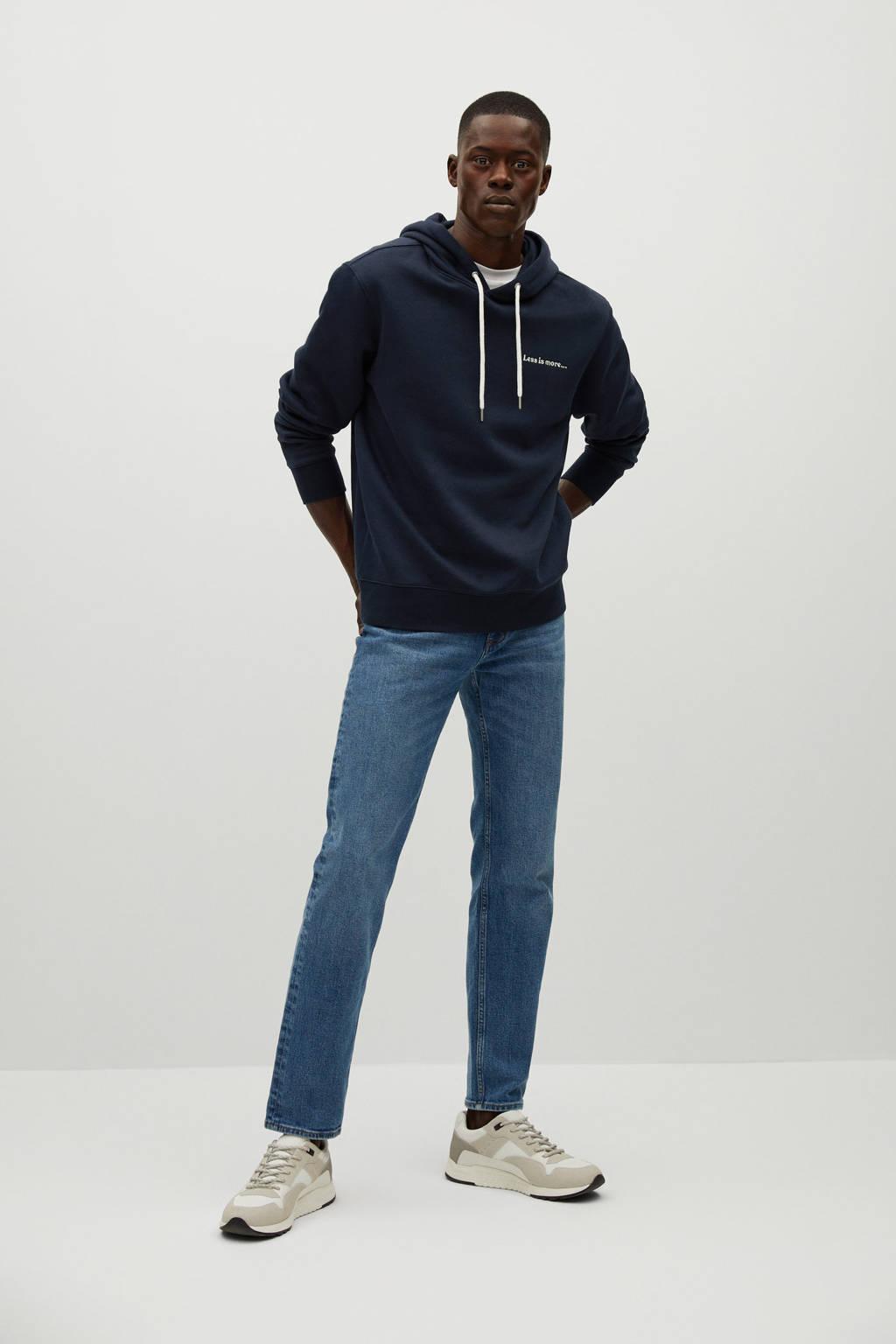 Mango Man hoodie marine, Marine