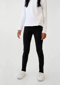 Mango Kids skinny jeans black denim, Black denim
