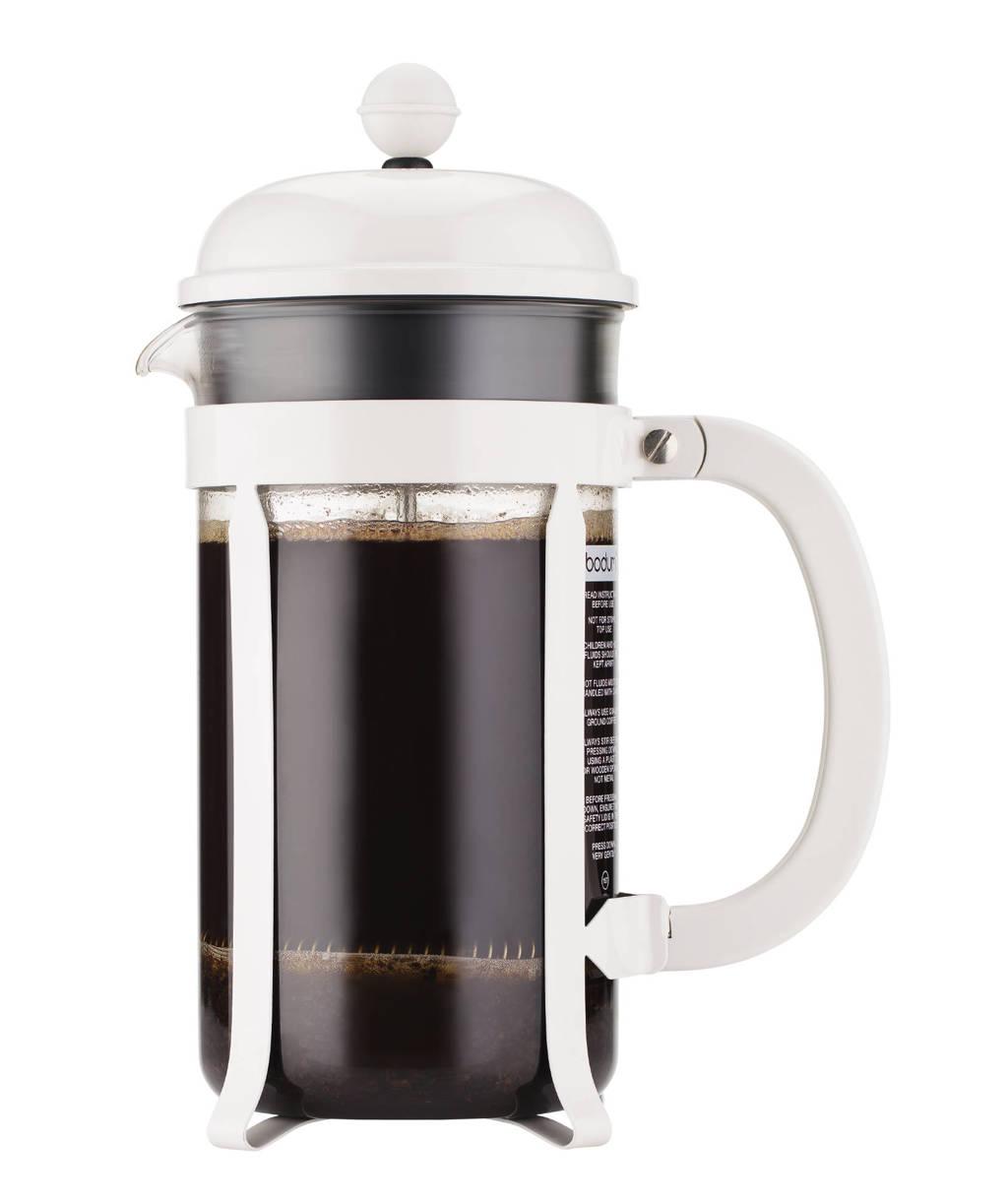 Bodum cafetière Chambord Wit (1 liter)