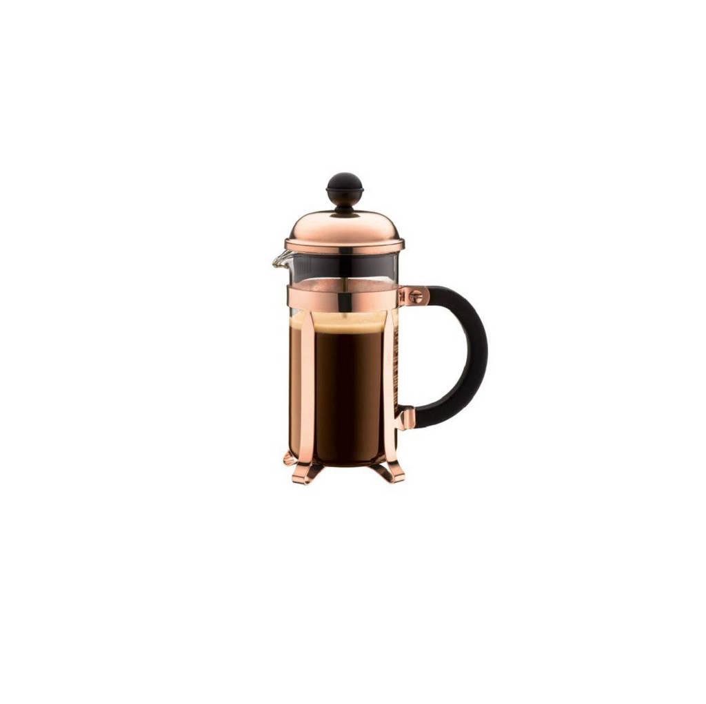Bodum cafetière Chambord Koper (0.35 Liter), koperkleurig