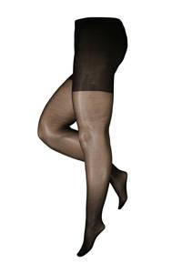 Pamela Mann super curvy + size panty Luxury 30 denier zwart, Zwart