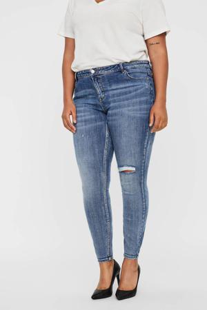 skinny jeans VMLYDIA medium blue denim