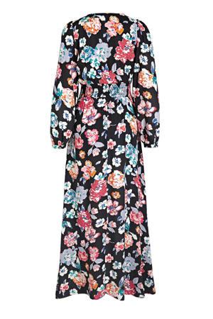 maxi jurk ONLJAIME met all over print zwart