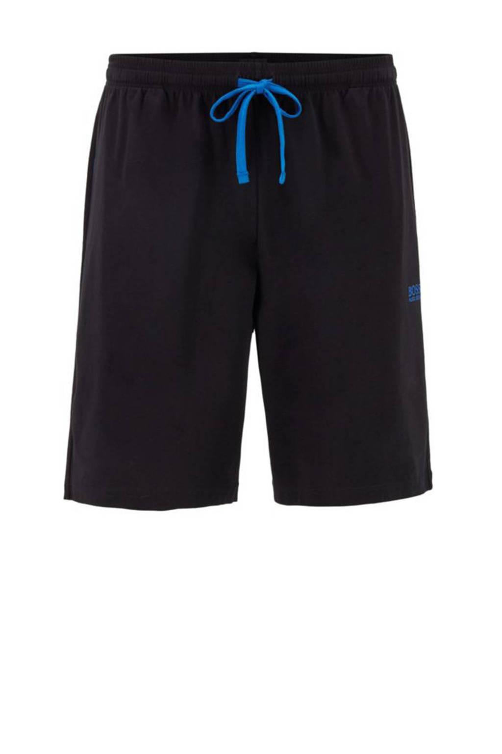 BOSS pyjamashort zwart, Zwart