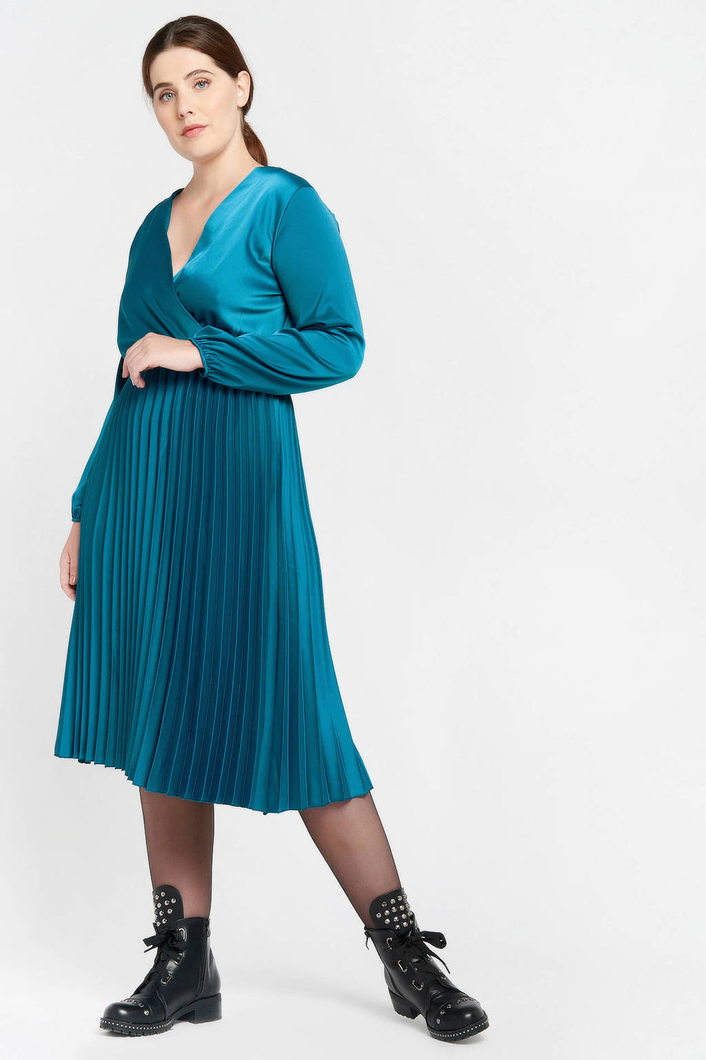 LOLALIZA jurk blauw, Blauw