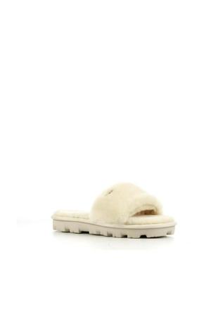 Cozette pantoffels gebroken wit
