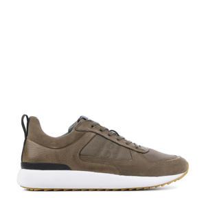 UG36  suède sneakers taupe