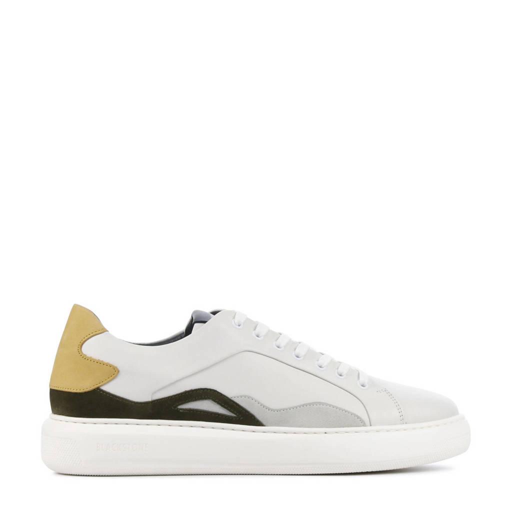 Blackstone UG24  leren sneakers off white, off white/multi