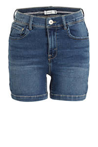 NAME IT KIDS jeans short Salli met biologisch katoen stonewashed, Stonewashed