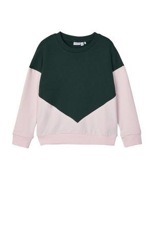 sweater Wioletta paars/roze