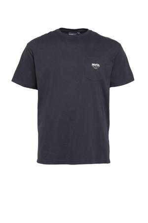 +size T-shirt Plus Size donkerblauw