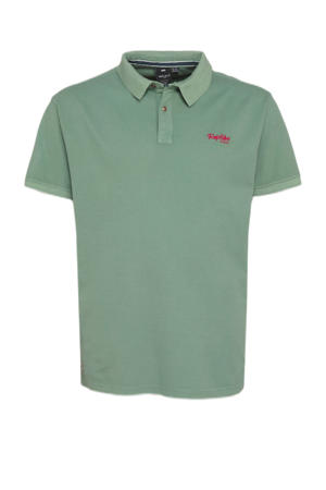 +size regular fit polo jade