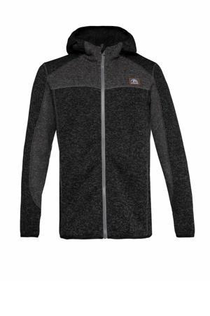 fleece vest Scotty zwart