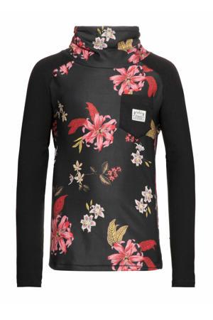 thermo shirt Lynn Jr. zwart/roze