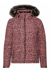 Protest ski-jack Cheetah roze, Think Pink