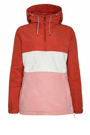 outdoor anorak Ann roze/rood