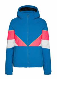 Protest ski-jack Babe blauw/roze, Blue Mind