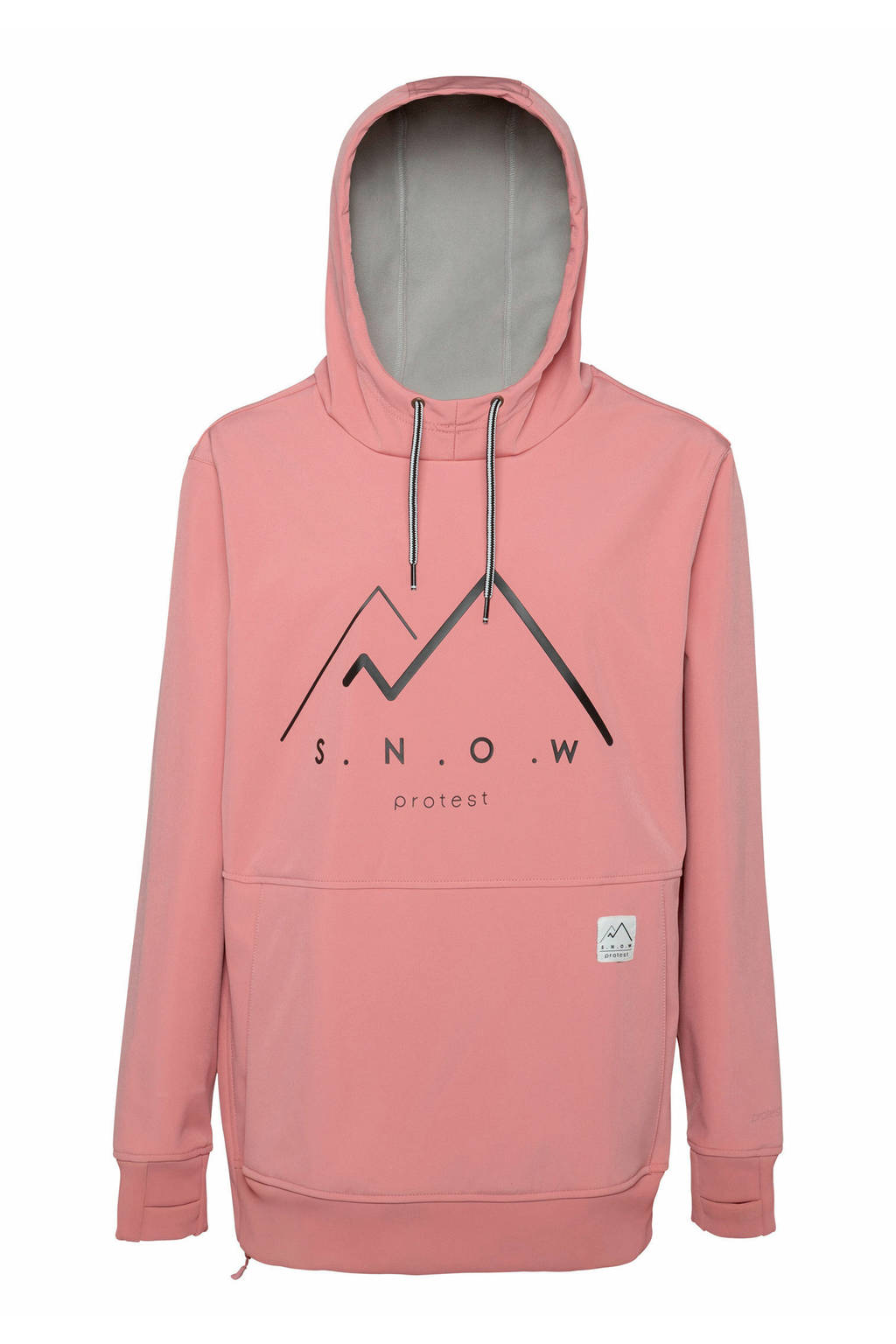 Protest Faith ski-anorak roze, Think Pink