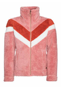Protest fleece vest Tess Jr. roze/rood, Think Pink