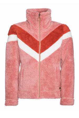 fleece vest Tess Jr. roze/rood