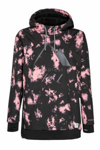 Protest Faith ski-anorak zwart/roze, Think Pink
