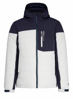 ski-jack Mount 18 wit/donkerblauw