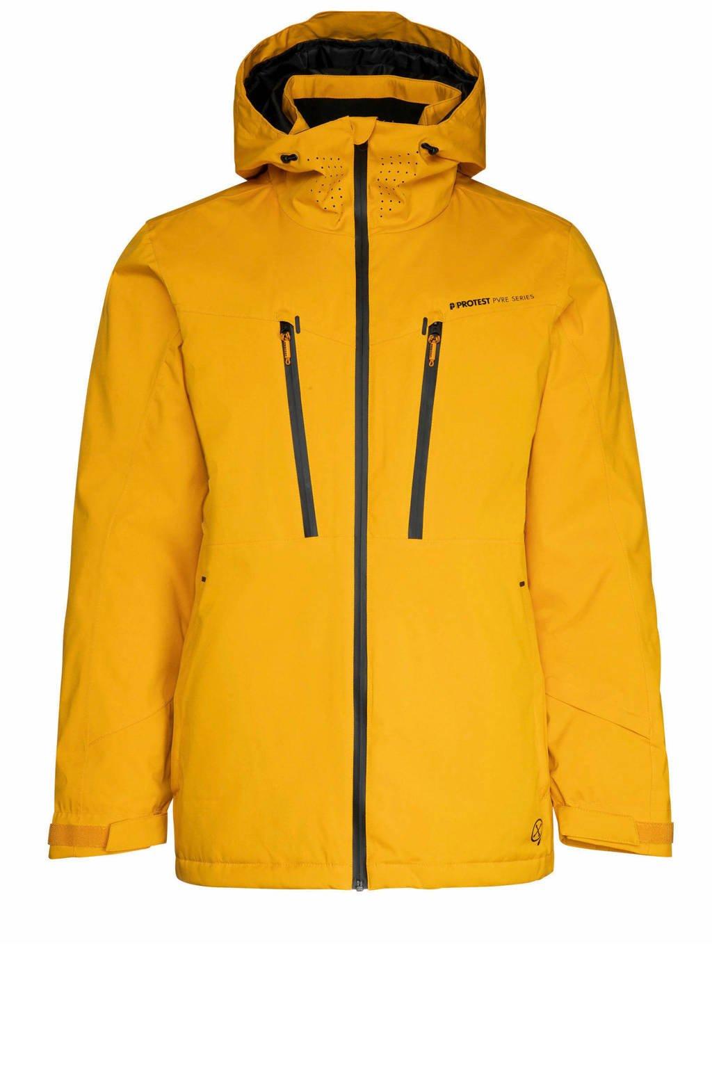 Protest Timo ski-jack geel, Dark yellow