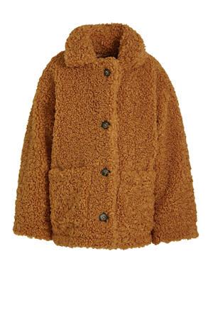 teddy winterjas Mora bruin