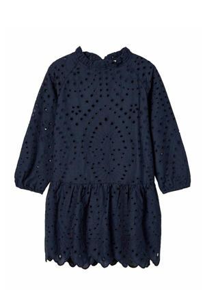 jurk Nalla van biologisch katoen donkerblauw