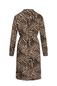 SisterS Point blousejurk met all over print wit, Wit