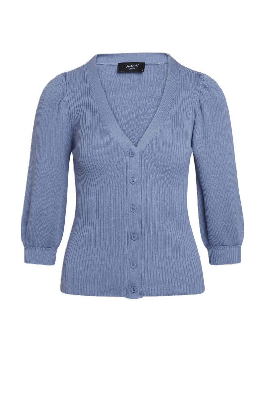 SisterS Point vest blauw, Blauw