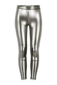 4PRESIDENT imitatieleren legging Paris metalic zilver, Metalic zilver