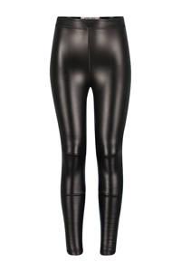 4PRESIDENT imitatieleren legging Paris zwart, Zwart