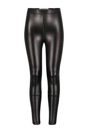 imitatieleren legging Paris zwart
