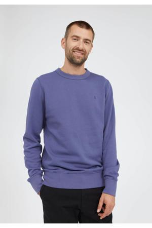 sweater Kaarlsson van biologisch katoen blauw
