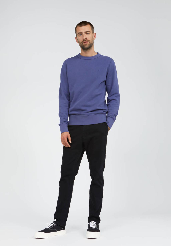 ARMEDANGELS sweater Kaarlsson van biologisch katoen blauw, Blauw
