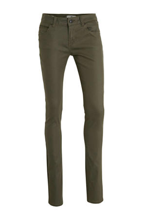 skinny jeans Matisa olive night coated