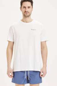 Knowledge Cotton Apparel T-shirt ALDER wit, Wit