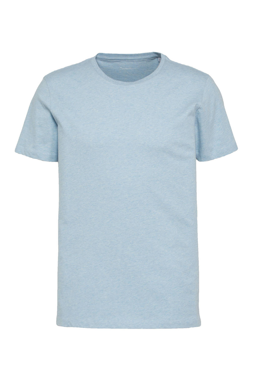 Knowledge Cotton Apparel T-shirt ALDER lichtblauw, Lichtblauw
