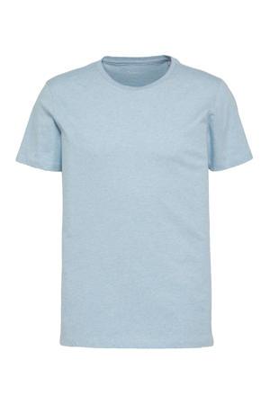 T-shirt ALDER lichtblauw