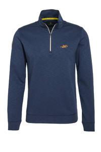 New Zealand Auckland sweater Te Paeroa donkerblauw, Donkerblauw
