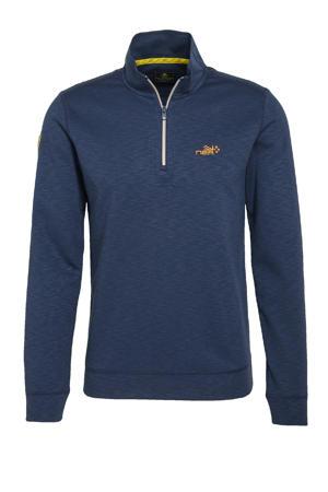 sweater Te Paeroa donkerblauw