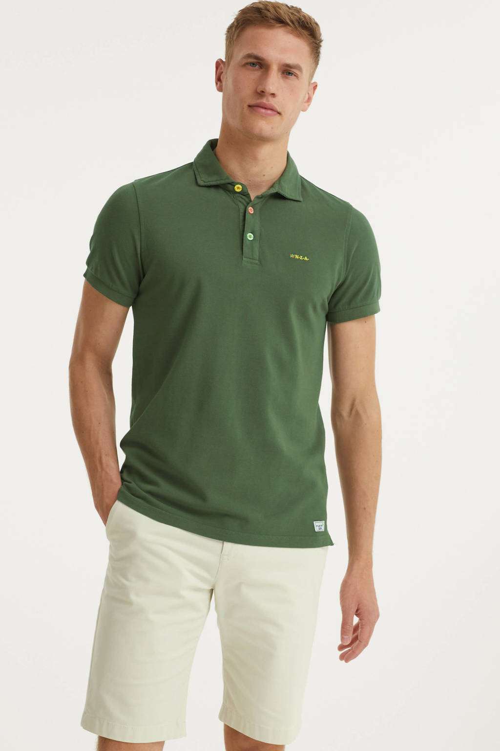 New Zealand Auckland regular fit polo Kerikeri army, Army